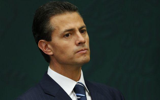 """Peña Nieto dijo que se debe admitir que el crimen organizado """"lamentablemente tiene armas mas sofisticadas con las que delinque y enfrenta a las corporaciones de seguridad pública"""". Foto: Archivo / REUTERS."""