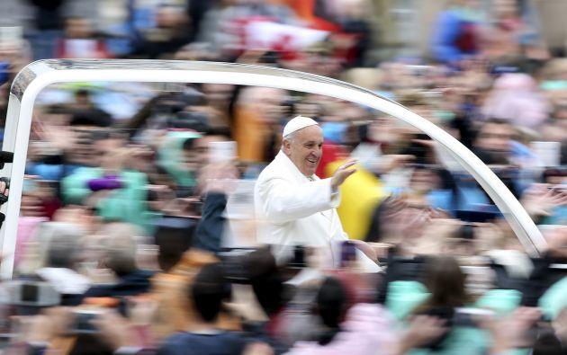 """En una carta difundida el Jueves Santo, se informó que Francisco esperaba visitar """"pronto"""" al pueblo colombiano durante uno de sus viajes a América Latina. Foto: REUTERS"""