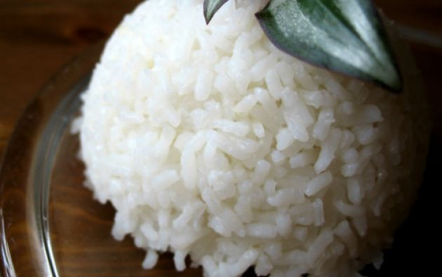 La clave para la reducción de las calorías está en el almidón, principal componente del arroz.
