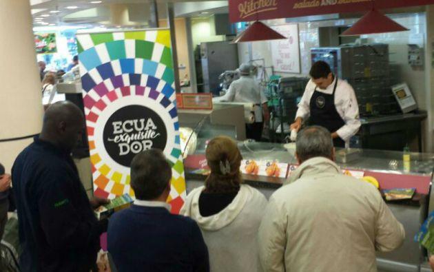 """Ecuador participa en el Salón de Gourmets en Madrid con el stand """"Ecuador Exquisito"""". Foto: PRO ECUADOR"""