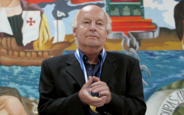 Eduardo Galeano falleció el pasado lunes en Montevideo a causa de un cáncer de pulmón que sufría desde hace años. Foto: REUTERS
