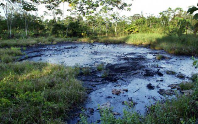 La Justicia ecuatoriana condenó a Chevron a pagar 9.500 millones de dólares por los daños medioambientales en la Amazonía. Foto: Archivo Vistazo