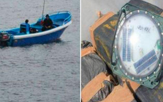 El operativo conjunto se realizó en aguas internacionales de Ecuador.