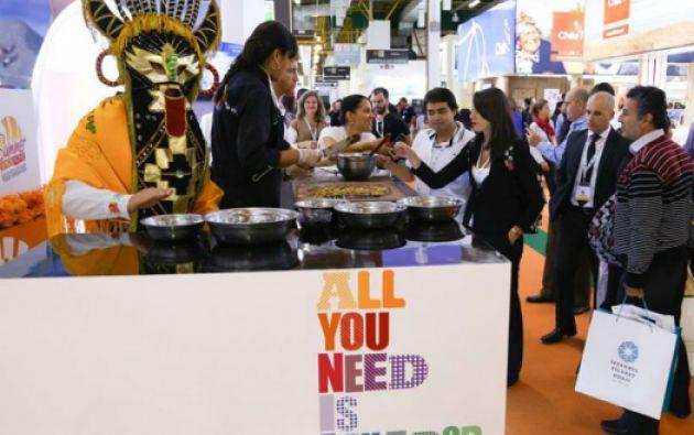 Ecuador participa en el World Travel Market Latin America que se desarrolla en Sao Paulo. Foto: WTM Latin America