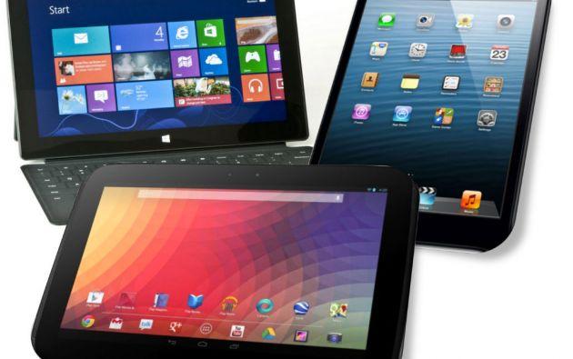 """Las entregas de tablets y dispositivos """"dos en uno"""" (tablets - computadoras portátiles) cayeron a 47,1 millones de dólares."""