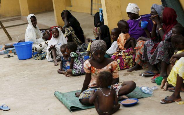 Al menos 214 mujeres y niñas están en estado de embarazo, Foto. REUTERS