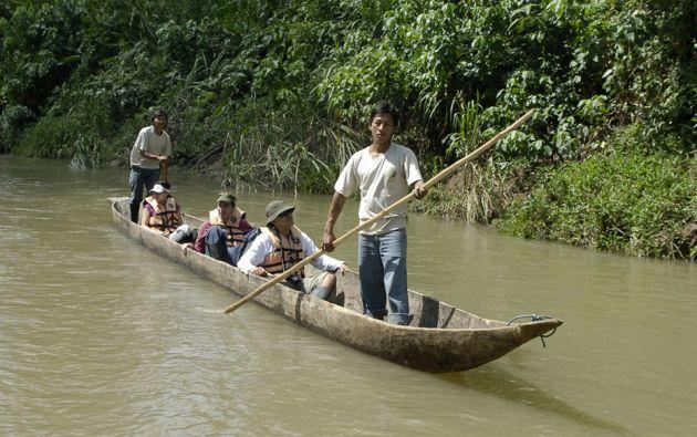 Con la iniciativa también se busca impulsar el turismo a la Amazonía. Foto: Archivo Vistazo