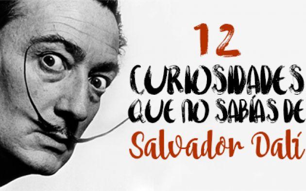 Dalí despertó polémica por su confesados narcisismo y megalomanía.