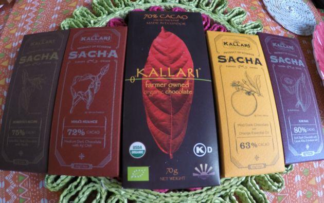 De la selva. El cacao se cosecha y se fermenta en la provincia del Napo. Para convertirlo en chocolate lo llevan a una fábrica de Quito y a otra ubicada en Salinas de Guaranda. Foto cortesía Asociación Kallari