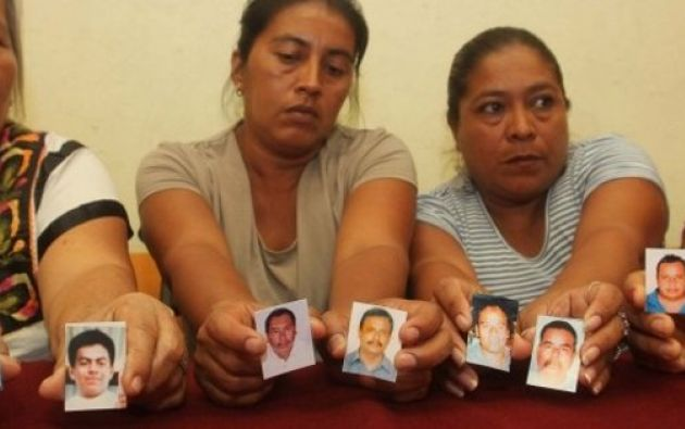 La Fiscalía pidió a los familiares información como la descripción física de sus parientes. Foto: Archivo / Ecuavisa.