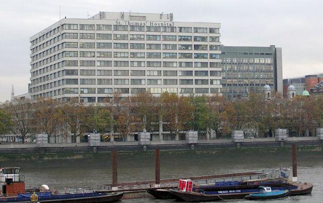 Londres, Hospital Saint Thomas. Foto: Wikimedia