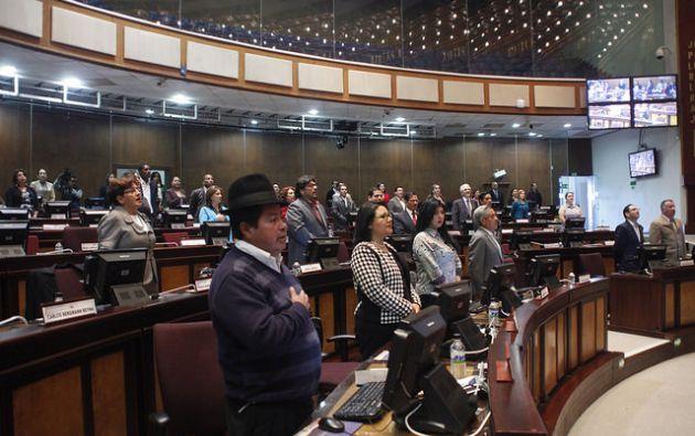 El pleno de este organismo decidió delegar el proceso de fiscalización a la Comisión de Biodiversidad. Fotos: Asamblea Nacional.