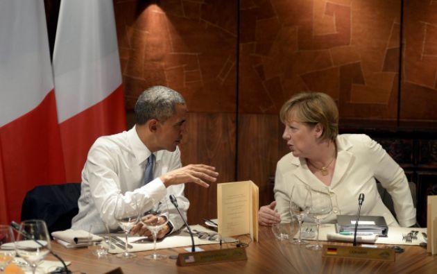 Angela Merkel y Barack Obama. Foto: Reuters