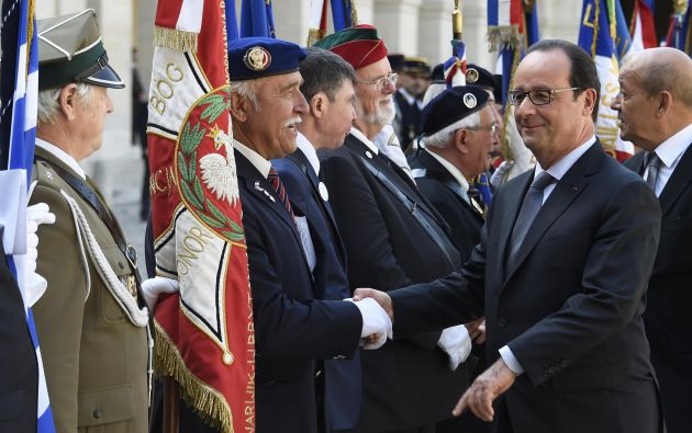 Presidente de Francia, Francois Hollande. Foto: Reuters