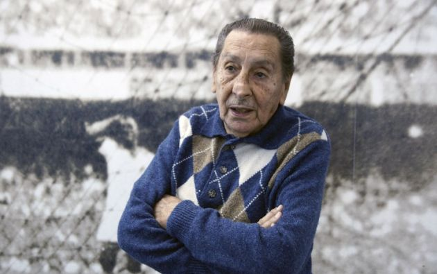 Alcides Ghiggia. Foto: AFP