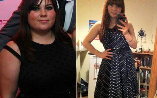 El antes y el después de Adele Morgan.