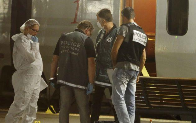 Dos personas resultaron gravemente heridas. Foto: REUTERS