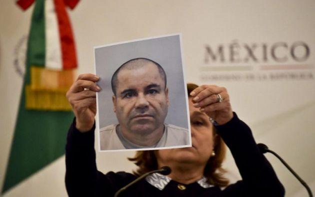 """Joaquín """"El Chapo"""" Guzmán escapó el pasado 11 de julio del penal de máxima seguridad del Altiplano."""