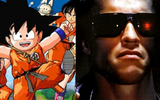 Dragon Ball y Terminator son dos temáticas que están absolutamente contrapuestas.