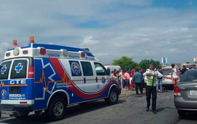 Foto: Servicio ECU-911 Samborondón.