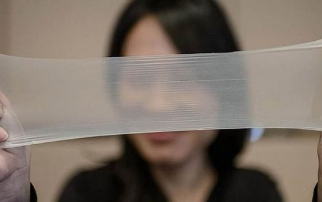 La compañía china ostentan el Récord Guiness a la mayor delgadez en un preservativo. Foto: Internet.