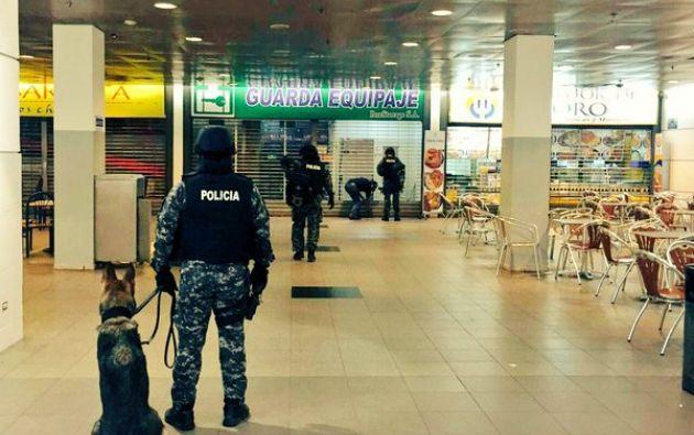 Un detenido por amenaza de bomba en terminal de guayaquil for Ministerio del interior en guayaquil