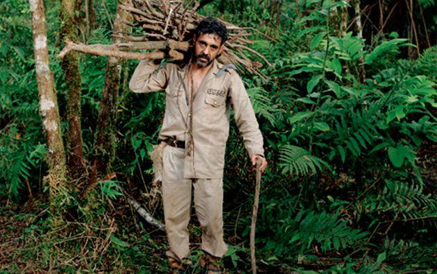 """En el cine nacional, Espinosa ha interpretado numerosos papeles, entre los más recientes están el de un sargento atormentado en """"Mono con gallinas""""."""