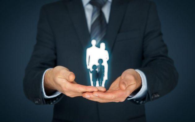 Los seguros de vida permiten garantizar una estabilidad económica a la familia frente a una tragedia. Foto: Fotolia