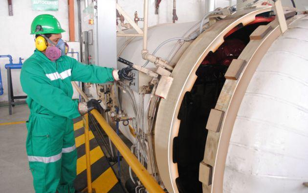 Gadere es una de las empresas autorizada para el manejo integral de desechos en el país. Foto: Cortesía Gadere