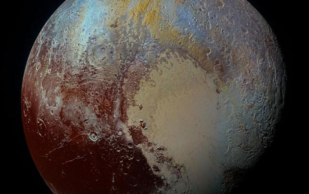 Plutón. Foto: Wikipedia.