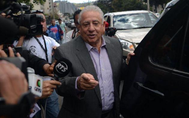 Luis Chiriboga sigue bajo prisión domiciliaria hasta que se conozca el veredicto de su juicio. Foto: Ecuavisa.