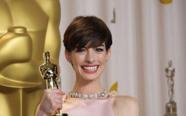 """La actriz, quien obtuvo la estatuilla dorada en 2013 por su rol en """"Los miserables"""", aseguró que se sintió incómoda al recibir el galardón."""