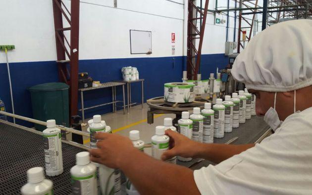 La multinacional Herbalife iniciará la producción local de una de sus bebidas.