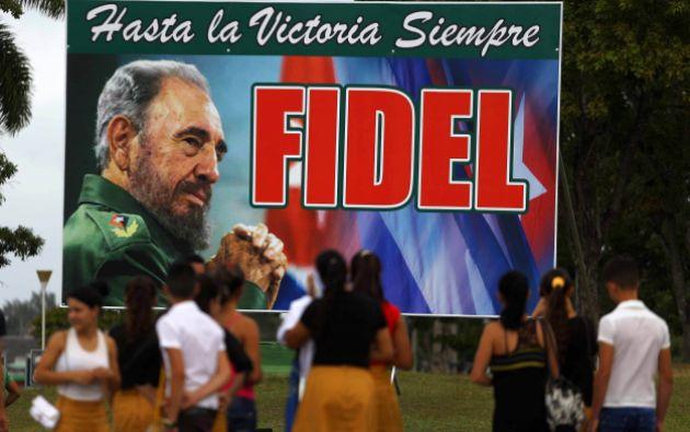 Las cenizas de Fidel Castro reposarán en Santiago de Cuba. Foto: Reuters