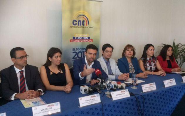En la consulta, sufragarán los mismos electores habilitados para las elecciones generales de febrero. | Foto: Ecuavisa