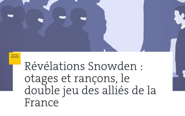 Esta es la portada digital del diario Le Monde de las nuevas revelaciones de Snowden. Foto: Le Monde