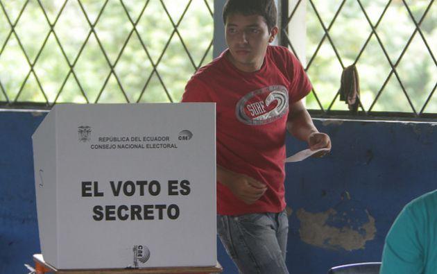 Más de 12 millones de ecuatorianos están habilitados para votar en febrero de 2017. Foto: CNE