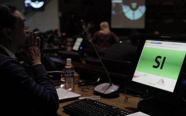 La Ley de Cultura fue aprobada en diciembre con 82 votos afirmativos y 18 abstenciones. Foto: Archivo