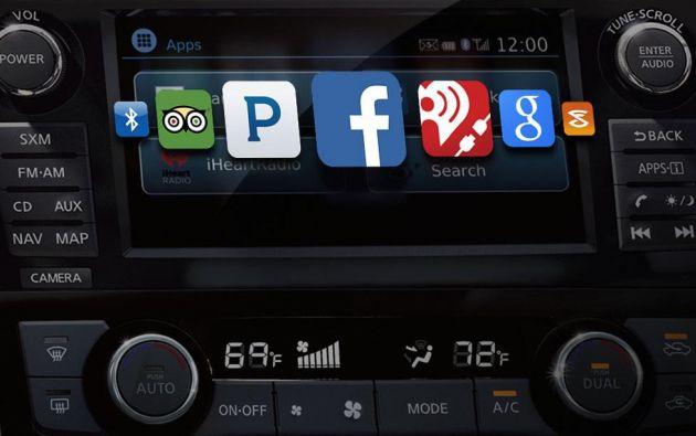 Con la tecnología Nissan Connect, el conductor se puede conectar a Internet desde el auto. Foto: tomado de Digital Trends.