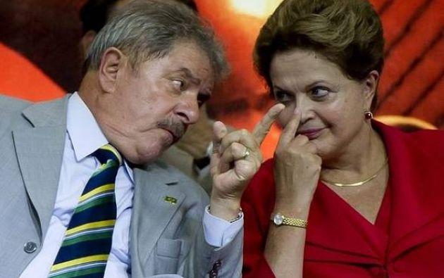 Las cuentas de los colaboradores de Lula da Silva y de Dilma Rousseff fueron congeladas. Foto: Agencias