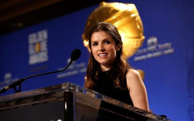 Ana Kendrick fue una de los tres actores que anunciaron los nominados de este año. Foto: REUTERS.