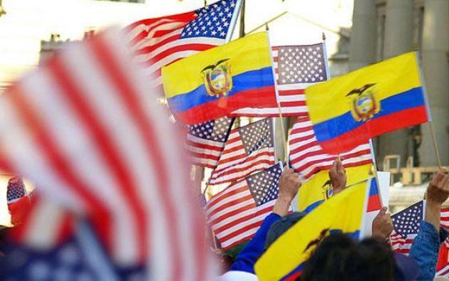 """El canciller Guillaume Long insistió en que Ecuador encarará la nueva Administración estadounidense """"con la mejor predisposición"""". Foto: referencial"""