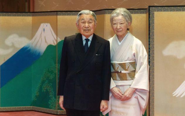 El emperador Akihito posa para un foto en el Palacio Imperial, en Tokio. Foto: REUTERS.