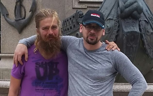 Anton Pilipa, de 39 años, había sido visto por última vez en Vancouver cinco años atrás. Foto tomada de Gofundme.com