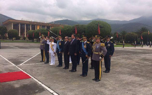 Foto: Twitter / Ministerio de Defensa.