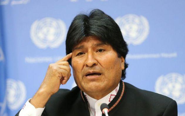 LA PAZ, Bolivia.- Bolivia recuerda cada 23 de marzo, con diversos actos cívicos, el Día del Mar. Foto: AP.