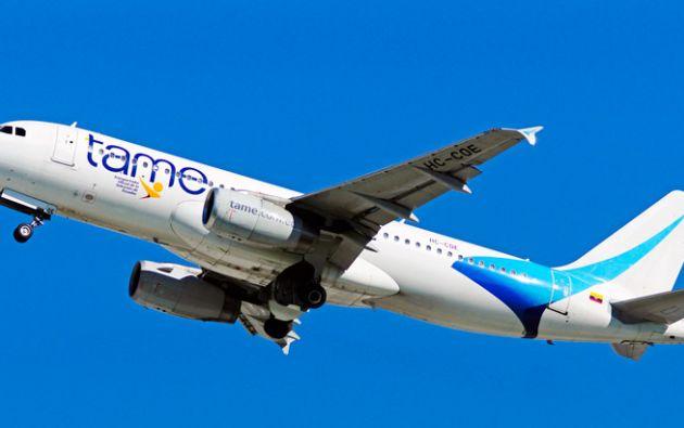 TAME se convirtió en abril de 2011 en empresa pública, mediante decreto ejecutivo en abril de 2011.| Foto: Internet