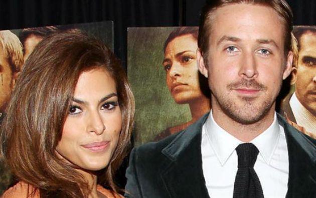 Ryan Gosling y Eva Mendes son pareja desde el 2011. | Foto: Internet
