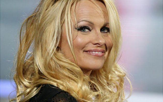 """""""Me pongo lencería para mí, si alguien más lo ve es un bono"""" dijo Pamela Anderson.  Foto: Internet"""