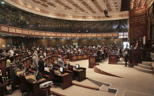 Los próximos asambleístas, recién elegidos, se posesionarán en mayo. Foto: Flickr de la Asamblea